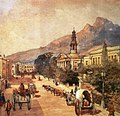 St Georges Cathedral Cape Town - Cape Colony 1800s - watercolour by Bowler.jpg