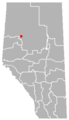 St Isidore, Alberta Location.png