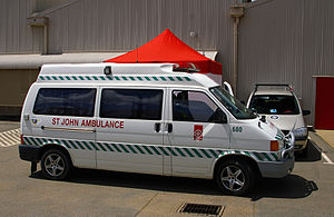 St John Ambulance Australia - St John First Aid Services Ambulance