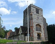 St John the Baptist's Church, The Street, Puttenham (May 2014) (4).jpg