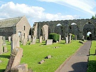 St Kentigerns Church, Lanark (Hyndford Road) ruined church building in Lanark, South Lanarkshire