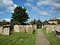 St Mary Magdalene, South Marston - Churchyard - geograph.org.uk - 496562.jpg