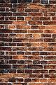 St Michael's Church, Theydon Mount, tower brickwork, Essex, England 02.jpg