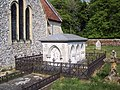 St Peter's Church, East Tytherley - Tomb - geograph.org.uk - 423033.jpg