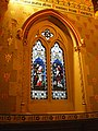 St Peter's RC Cathedral, Stained glass window - geograph.org.uk - 1060851.jpg