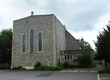 St Symphorian's Church, Durrington Hill, Durrington (May 2013).JPG