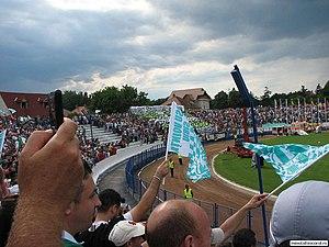 Stadionul Municipal (Sibiu) - Image: Stadionul municipal sibiu 6
