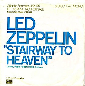 Stairway to Heaven by Led Zeppelin US promotional single.jpg
