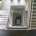 Stairwell at Baltic Arts Centre (geograph 3635134).jpg