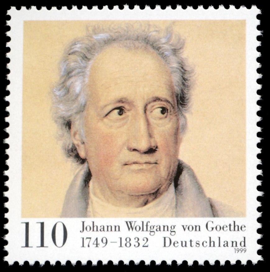 Stamp Germany 1999 MiNr2073 Goethe