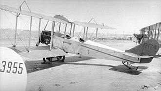 Standard J - Standard J-1 with Hispano-Suiza engine