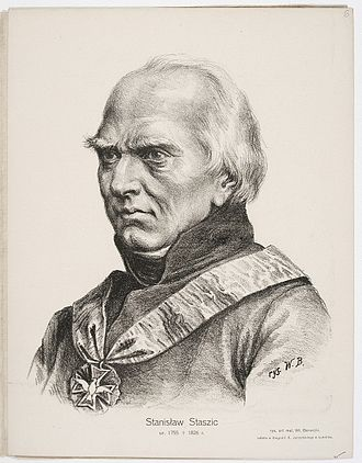 Stanisław Staszic - Staszic by W. Barwicki