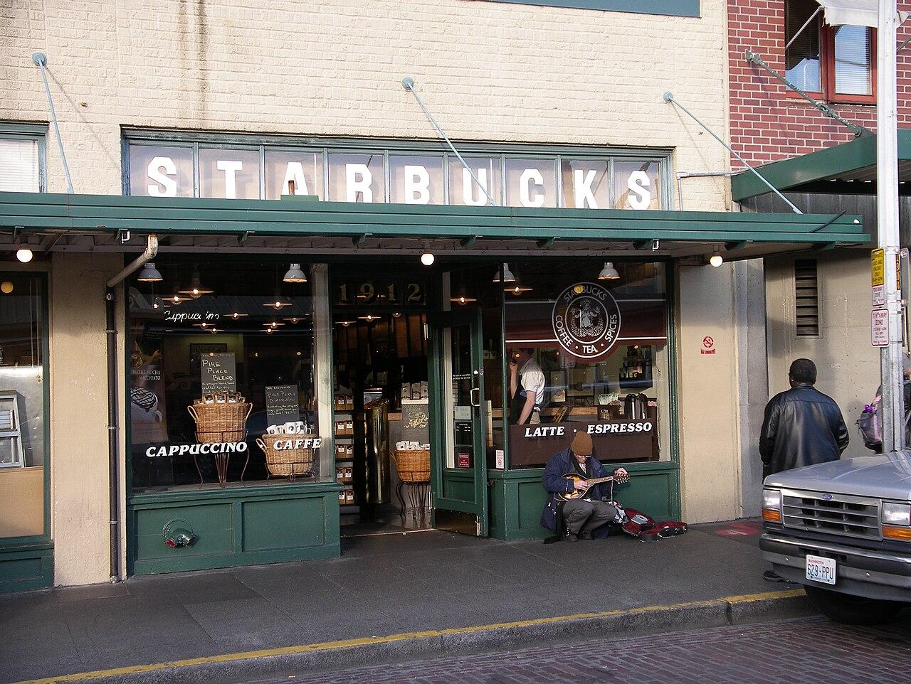 Toko Starbuck Pertama