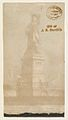 Statue of Liberty, New York, from the Transparencies series (N137) issued by W. Duke, Sons & Co. to promote Honest Long Cut Tobacco MET DP865839.jpg