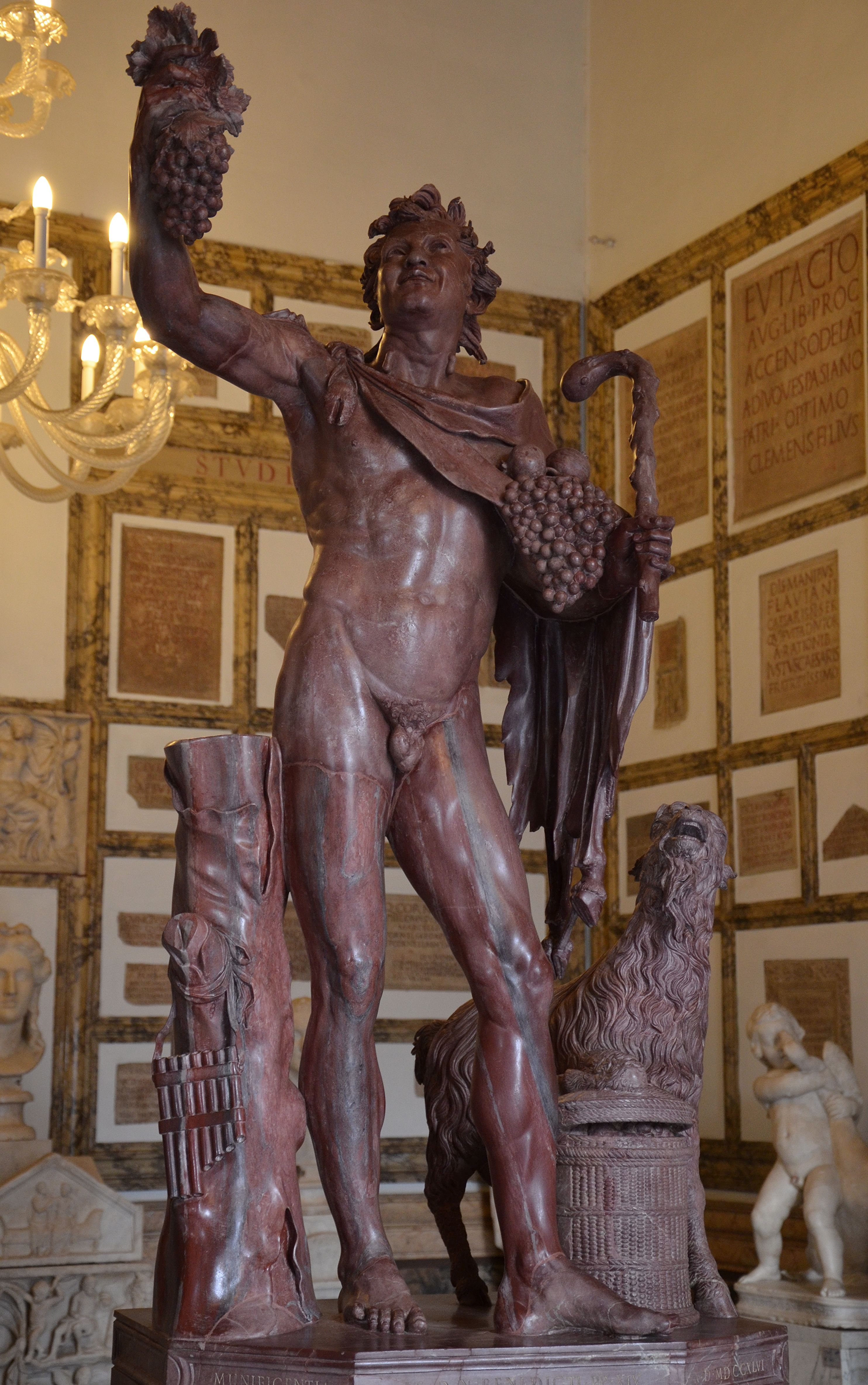 File:Statue Of A Drunken Faun, Hadrianic Copy Of A Greek Original From The  Late Hellenistic, From Hadrianu0027s Villa, Palazzo Nuovo, Capitoline Museums  ...