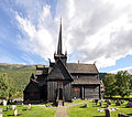 Stave church Lom, exterior view 2.jpg