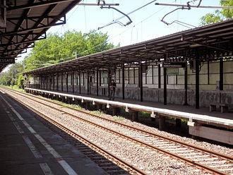 Cascina Burrona (Milan Metro) - Image: Staz Cascina Burrona interno