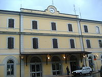 La stazione di Castelfranco Veneto