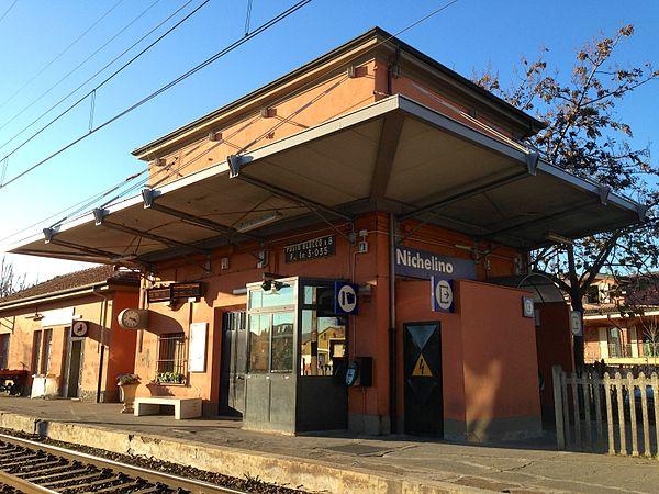 Nichelino railway station - Wikipedia
