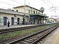 Stazione di San Vincenzo, Fabbricato viggiatori lato piazzale del ferro.JPG