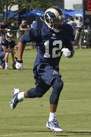 Stedman Bailey - Bailey with the Rams in 2013