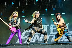 Steel Panther Wacken Open Air issa 2016.