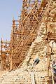 Step Pyramid of Djoser at Saqqara under renovation - panoramio.jpg