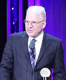 Steve Martin at the 75th Annual Peabody Awards (cropped).jpg