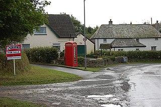 Stibb hamlet in Cornwall, England