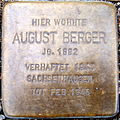 Stolperstein August Berger.JPG