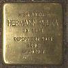 Stolperstein Bernstorffstr 99 für Hermann Pulka