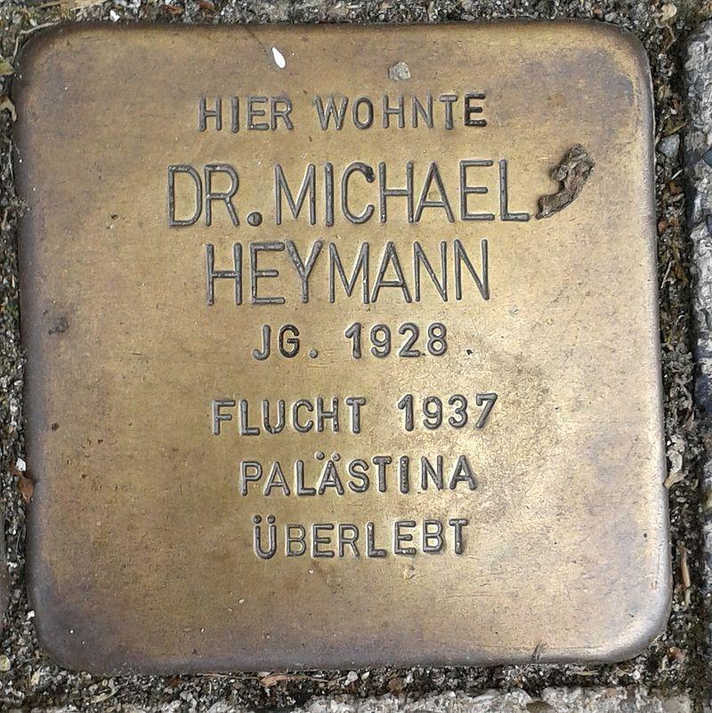 Stolperstein Emmerich Gasthausstraße 3 Michael Heymann