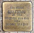 Stolperstein Friedrichstr 30 (Kreuz) Max Fromm.jpg