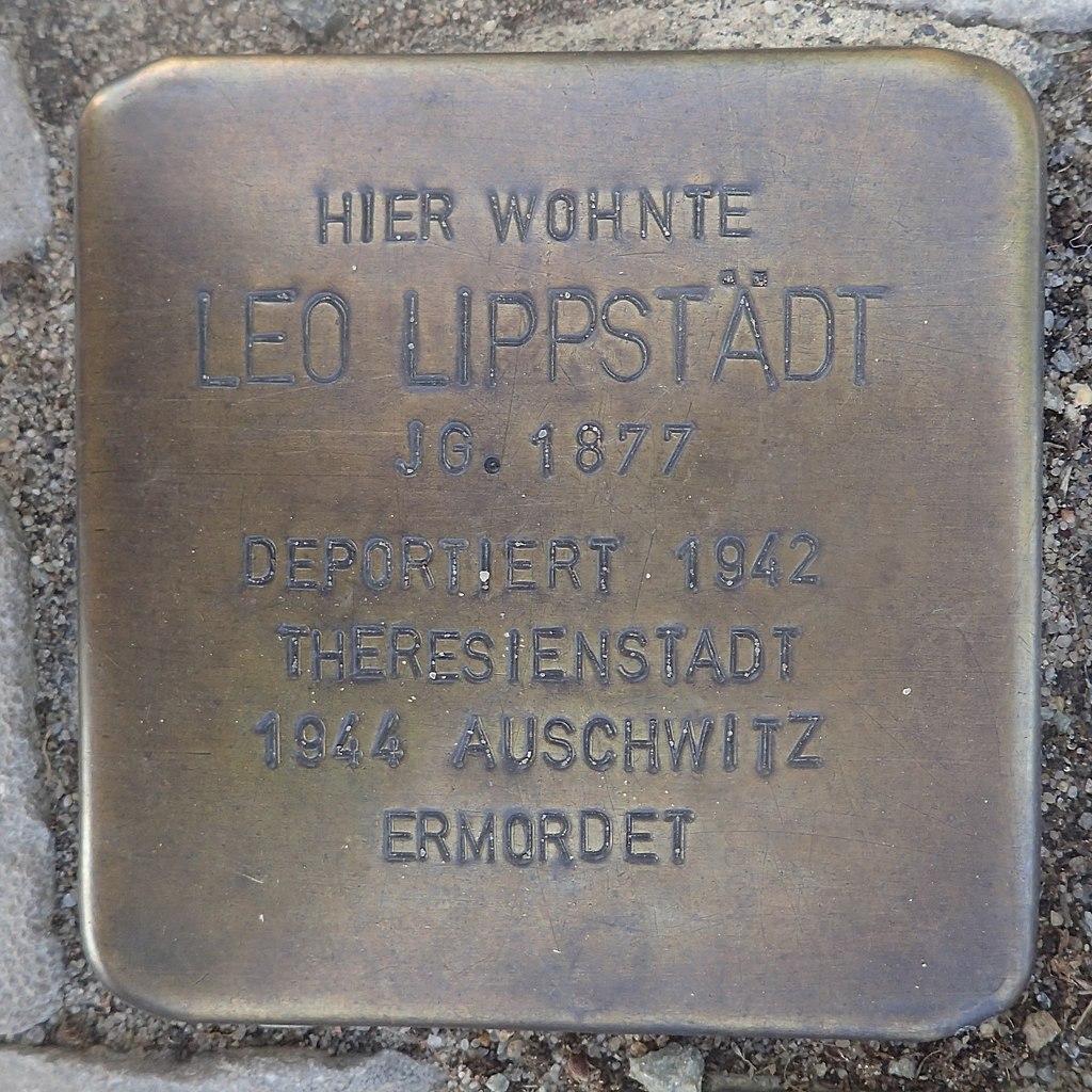 Stolperstein Gardelegen Bahnhofstraße 87 Leo Lippstädt