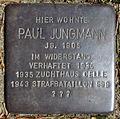 Stolperstein Hülsenstieg 5 (Paul Jungmann) in Hamburg-Marmstorf.JPG