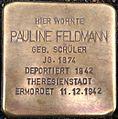 Stolperstein Kiel Pauline Feldmann.jpg
