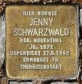Stolperstein Motzstr 30 (Schön) Jenny Schwarzwald.jpg