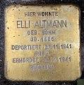 Stolperstein Motzstr 87 (Wilmd) Elli Altmann.jpg