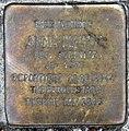 Stolperstein Waldschulallee 7 (Weste) Anna Magud.jpg