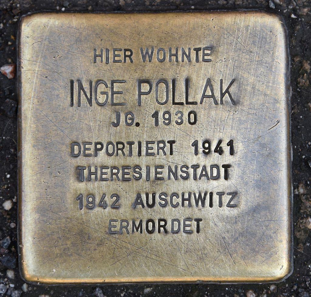 Stolperstein für Inge Pollak.JPG