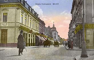 Galați - Domnească Street, 1905