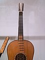 Stradivaruis Guitar - 1700, fretboard, National Music Museum, Vermillion.jpg