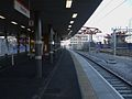 Stratford station Overground new platform 2 look east2.JPG