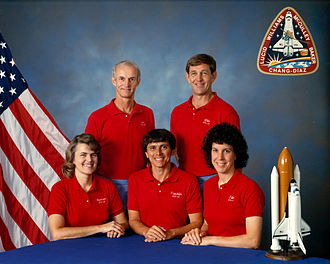 STS-34 - Image: Sts 34 crew