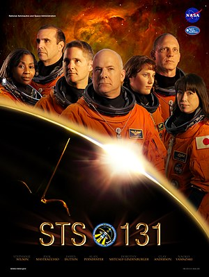 STS-131 - Mission poster
