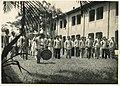 Students of Taihoku High School at the dorm courtyard.jpg