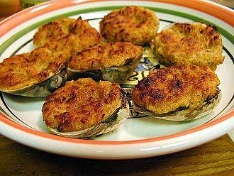 Stuffed clam - Stuffed clams