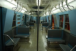 r16 new york city subway car wikipedia. Black Bedroom Furniture Sets. Home Design Ideas