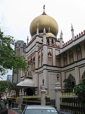 Swan and Maclaren - Sultan Mosque in Kampong Glam