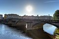 Sunrise - Ponte alla Carraia, Florence, Italy - June 16, 2013 01.jpg